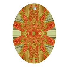 Mesmerize Oval Keepsake Ornament