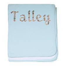 Talley Seashells baby blanket