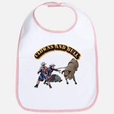 Clowns and Bull-2 with Text Bib
