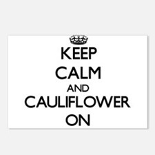 Keep Calm and Cauliflower Postcards (Package of 8)