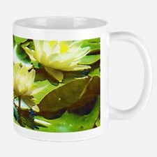 Yellow Water Lilies Mug