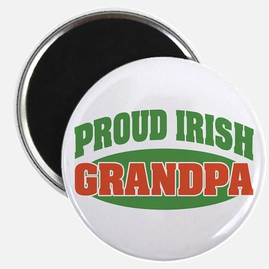 """Proud Irish Grandpa 2.25"""" Magnet (10 pack)"""