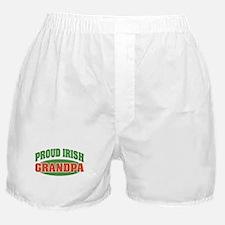 Proud Irish Grandpa Boxer Shorts