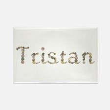 Tristan Seashells Rectangle Magnet