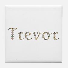 Trevor Seashells Tile Coaster
