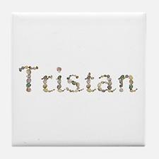 Tristan Seashells Tile Coaster