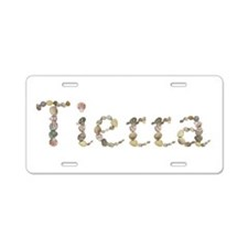 Tierra Seashells Aluminum License Plate