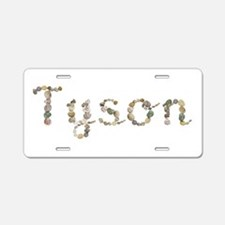 Tyson Seashells Aluminum License Plate