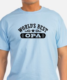 World's Best Opa T-Shirt