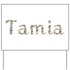 Tamia Seashells Yard Sign