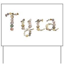Tyra Seashells Yard Sign