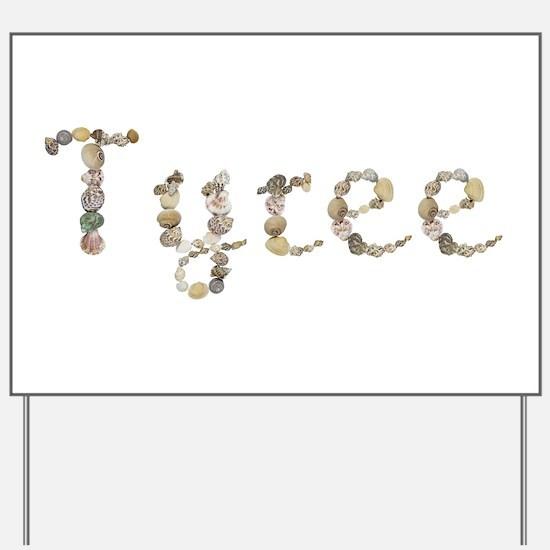 Tyree Seashells Yard Sign