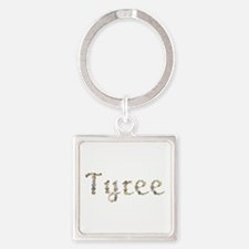 Tyree Seashells Square Keychain