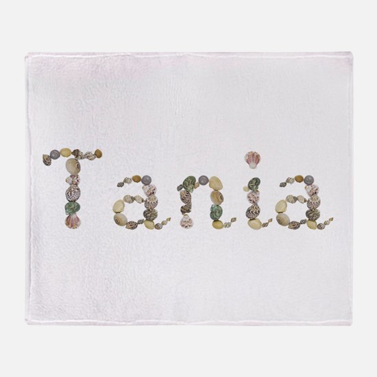 Tania Seashells Throw Blanket