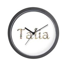 Talia Seashells Wall Clock