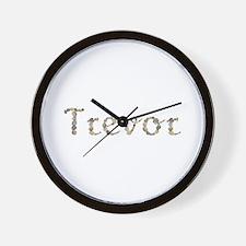 Trevor Seashells Wall Clock