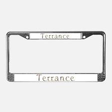 Terrance Seashells License Plate Frame