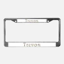 Trevon Seashells License Plate Frame