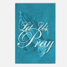Let Us Pray Postcards (Package of 8)
