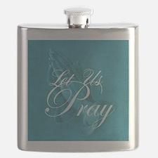 Let Us Pray Flask