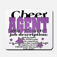 cheer agent Mousepad