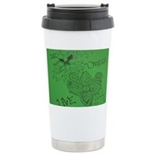 Be Live Dream Green Travel Mug
