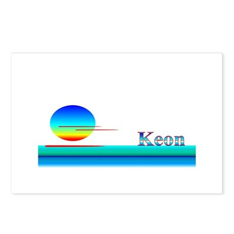 Keon Postcards (Package of 8)