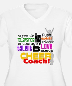 Cheer Coach Words T-Shirt