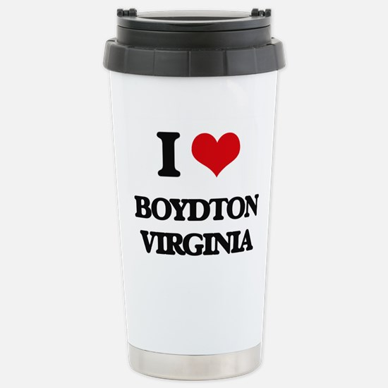 I love Boydton Virginia Stainless Steel Travel Mug