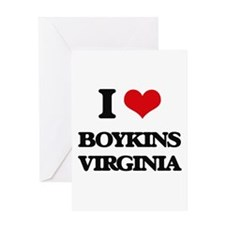 I love Boykins Virginia Greeting Cards