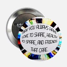 """Cute Military friends and family 2.25"""" Button (100 pack)"""
