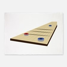 Shuffle Board 5'x7'Area Rug