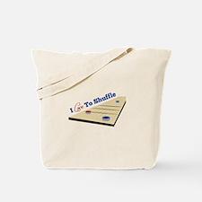 Love to Shuffle Tote Bag