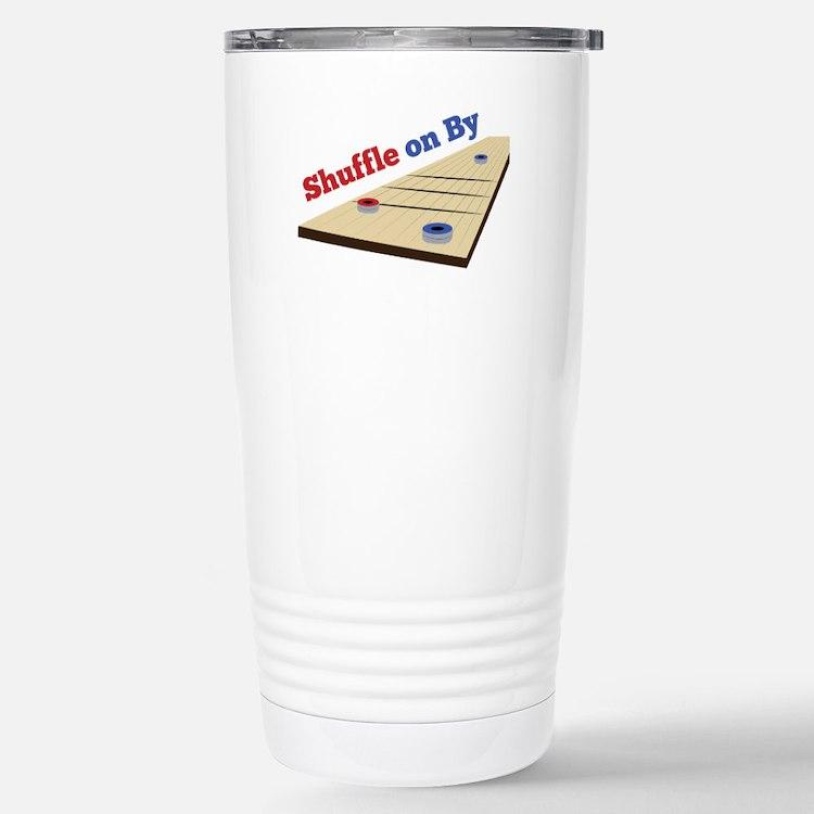 Shuffle on By Travel Mug