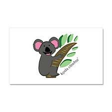 Koala Climbin Car Magnet 20 x 12