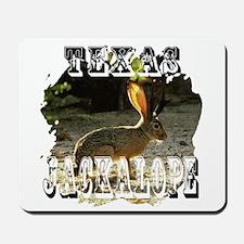 Texas Jackalope Mousepad