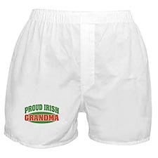 Proud Irish Grandma Boxer Shorts