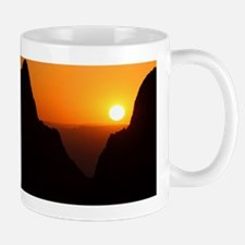 Sunset at the Window Mug