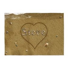 Steve Beach Love 5'x7'Area Rug