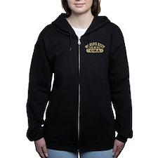 World's Best Oma Women's Zip Hoodie