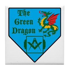 The Green Dragon Tile Coaster