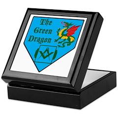 The Green Dragon Keepsake Box