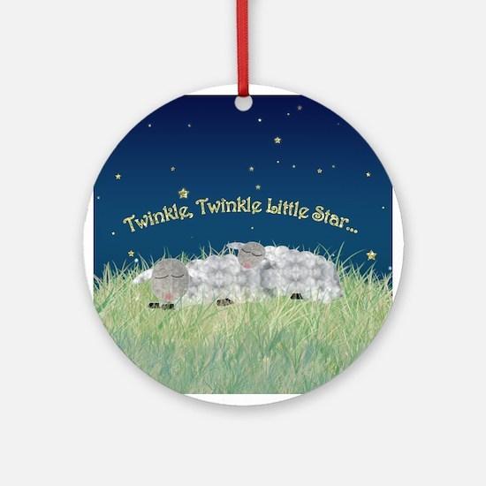 Twinkle Twinkle Little Star Sleeping Sheep Ornamen