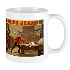 BLUE JEANS coffee cup