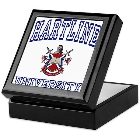 HARTLINE University Keepsake Box