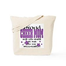 Proud Cheer Mom Tote Bag