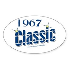1967 Classic Oval Decal