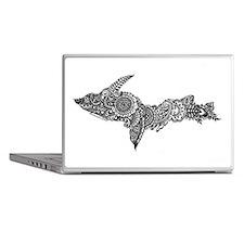 Mehndi Upper Peninsula UP by Kris Laptop Skins