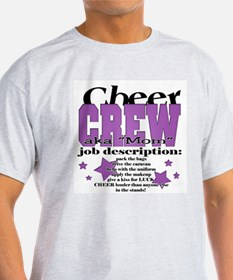 Cheer Crew aka Mom T-Shirt