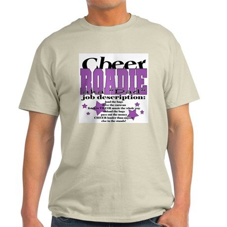 Cheer Roadie Dad Light T-Shirt